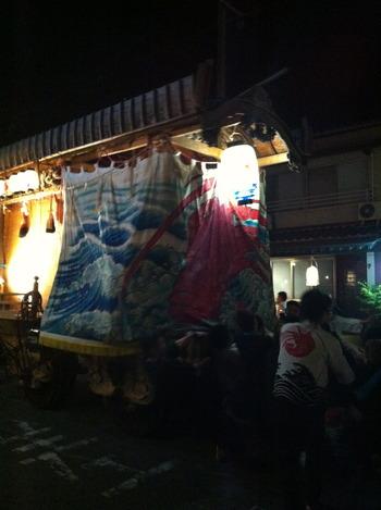 豊前市の宇島祇園